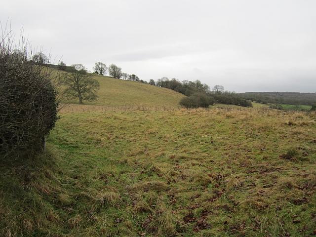 Steep slopes beneath Farlow