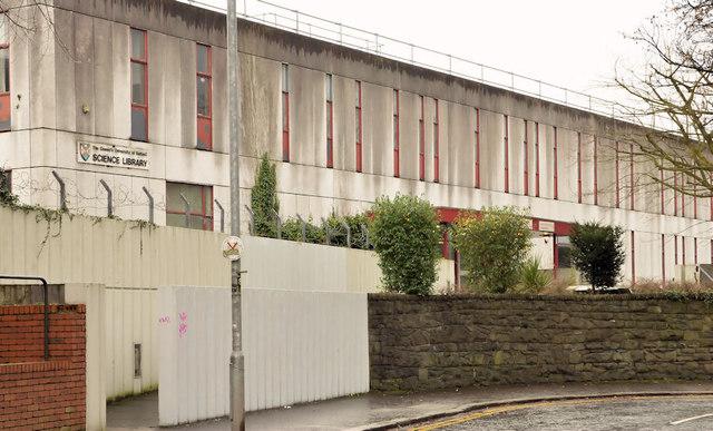 Former Queen's University Science Library, Belfast