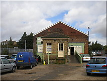 TR1458 : Old goods shed, Canterbury West by Richard Vince