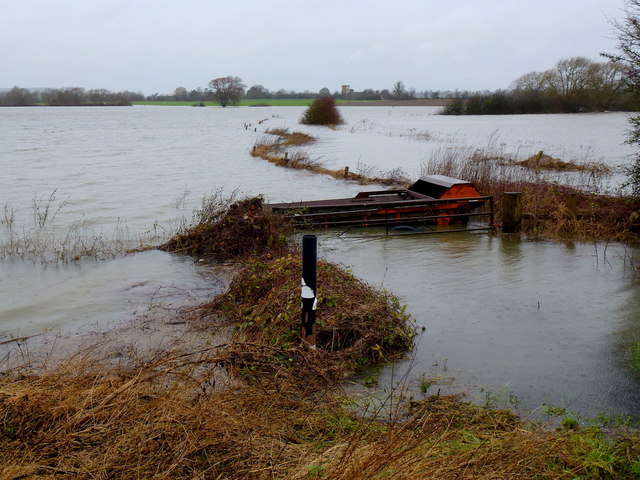Flooded Leigh Brook, 1