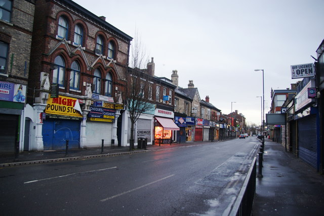Wilmslow Road, Withington