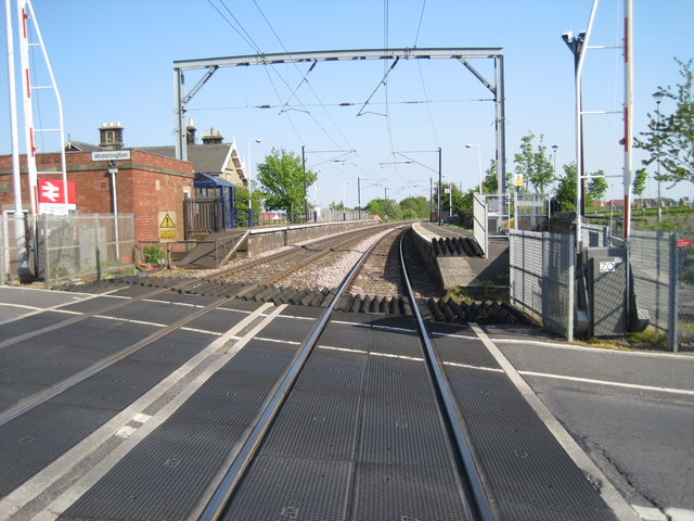 Widdrington railway station, Northumberland