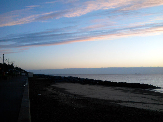 Sunrise At Felixstowe