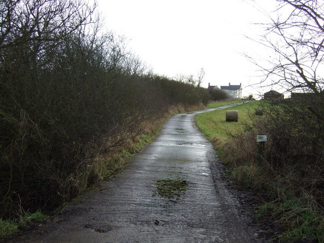 Track to Manor Farm