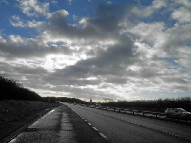 A15 Southbound lay-by