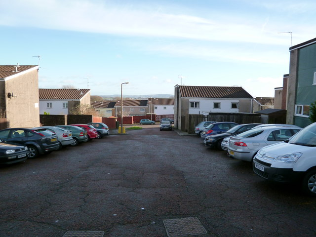 Shared Car Parking area in Tolpath