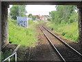 NS4963 : Hawkhead railway station (site), Renfrewshire by Nigel Thompson