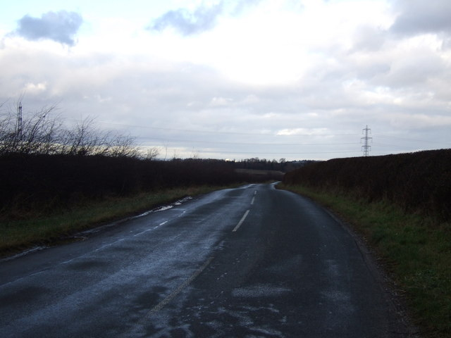 Heading north on National Cycle Route 65