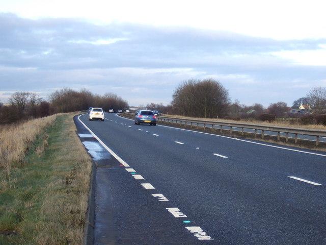 A19 heading north
