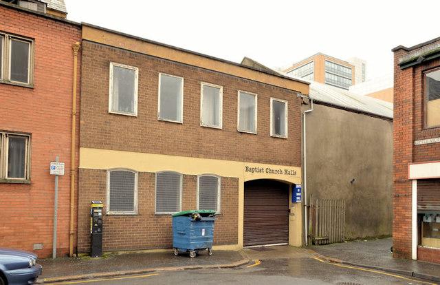 Gt Victoria Street Baptist church, Belfast (2013-2)