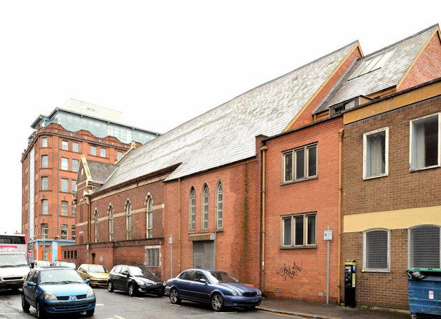 Gt Victoria Street Baptist church, Belfast (2013-3)