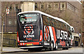"J3374 : ""Ulster Rugby"" coach, Belfast by Albert Bridge"