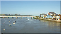TQ2105 : The River Adur near Shoreham-by-Sea, West Sussex by Roger  Kidd