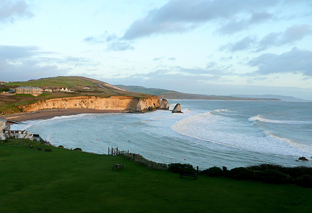 View from room 40, Freshwater Bay Hotel