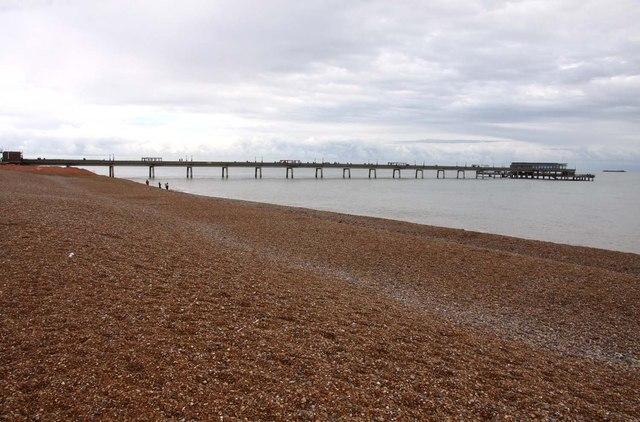 The Promenade Pier in Deal