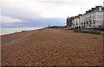 TR3752 : The beach at Deal by Steve Daniels