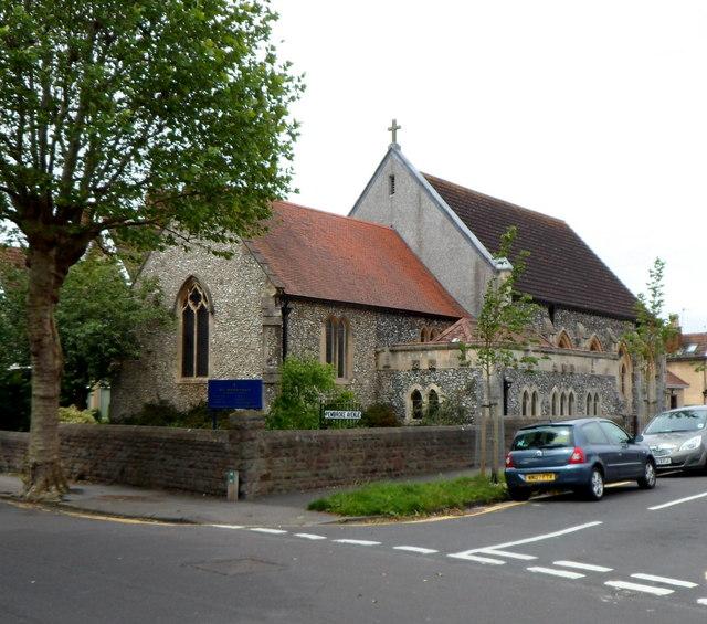 St Bernard's RC church, Shirehampton, Bristol