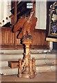 TL5338 : St Mary the Virgin, Saffron Walden - Lectern by John Salmon