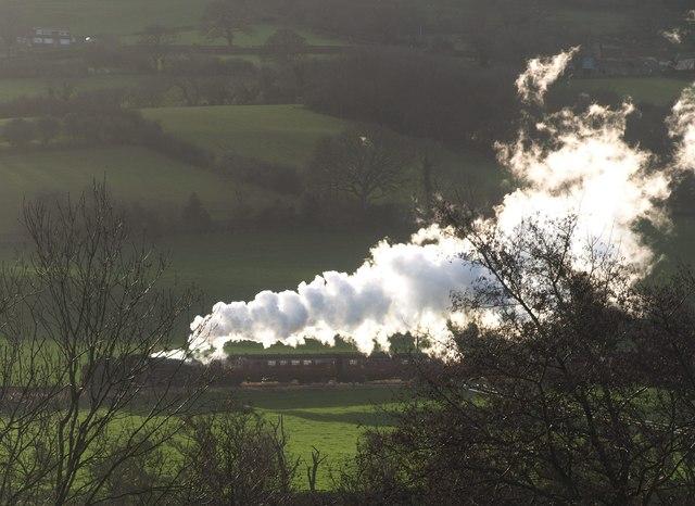 Steam train, Esk valley