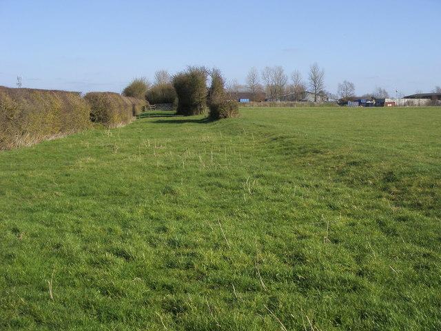 Bridleway nearing Kingshill Farm