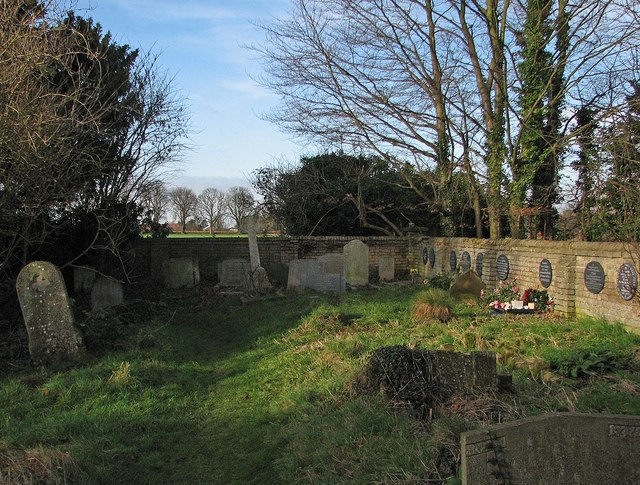 A corner of the Parish of the Ascension Burial Ground
