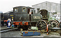 TQ4023 : Former North London 0-6-0T at Sheffield Park, Bluebell Railway, 1992 by Ben Brooksbank