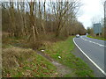 TQ0010 : The A29 going south seen from footpath junction by Shazz