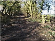 SU1789 : Kingsdown Lane (Track) by Shaun Ferguson