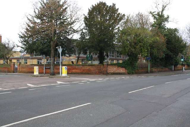 Junction of St Margaret's Road and Woodstock Road