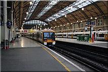 TQ2878 : Platform  5 Victoria Station by roger geach