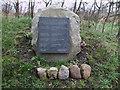SU0671 : Memorial plaque for RAF Yatesbury by Vieve Forward