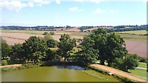 TQ7825 : Corner of the Moat & Beyond by Des Blenkinsopp