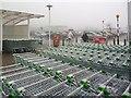 SO0708 : Asda car park, Dowlais Top, Merthyr Tydfil by Robin Drayton