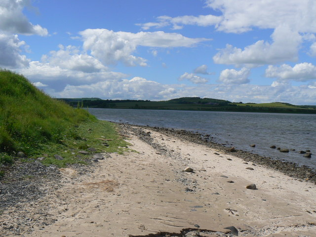Sea shore at Budle Bay