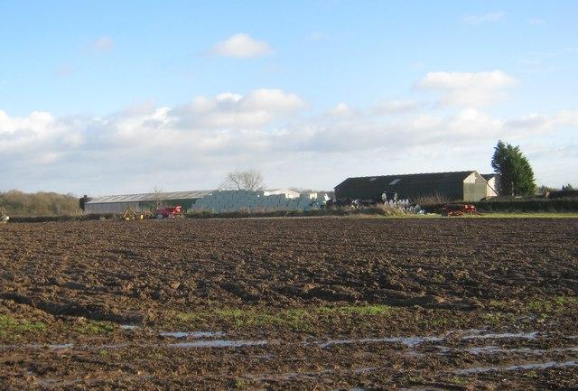 Farm buildings at Fulthorpe Farm
