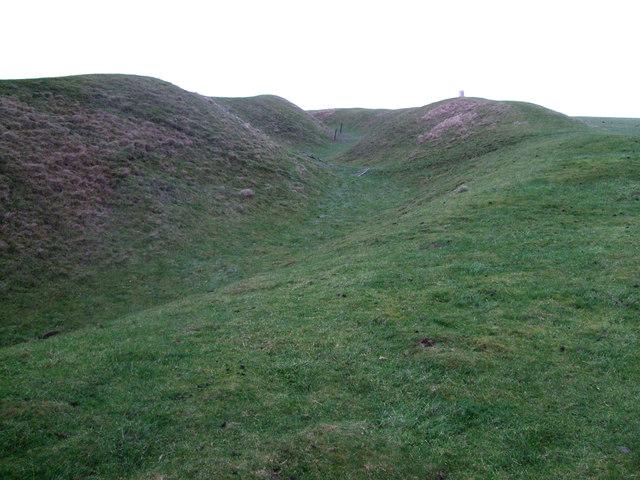 Ramparts, Uffington Castle