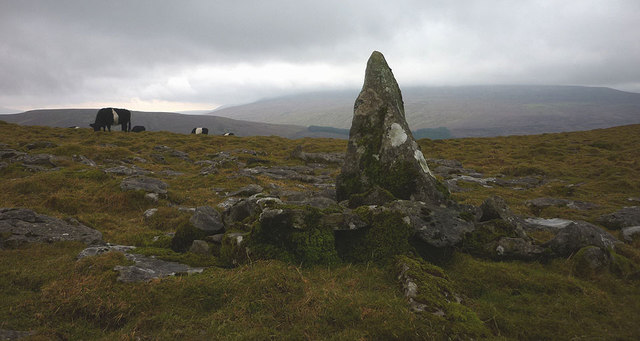 Pile of Stones on top of Wold Fell