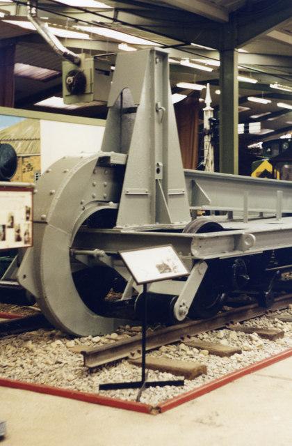 Museum of Army Transport, Beverley: German railroad-plough
