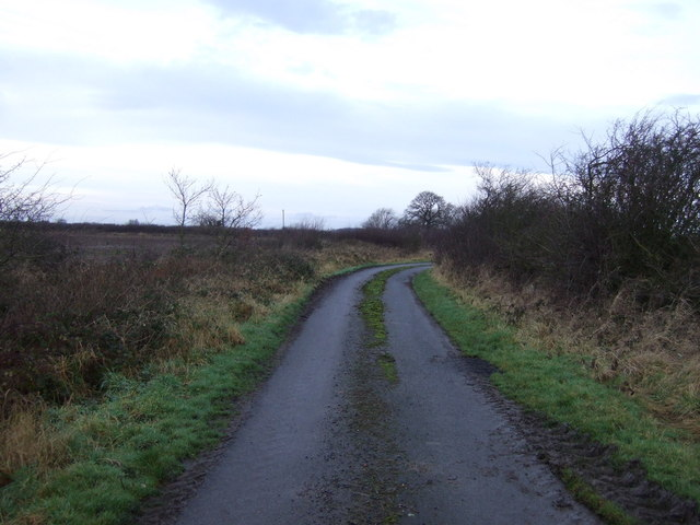 Track to Featherstone House