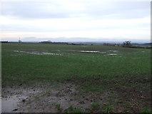 NZ3312 : Farmland, Hunger Hill Farm by JThomas