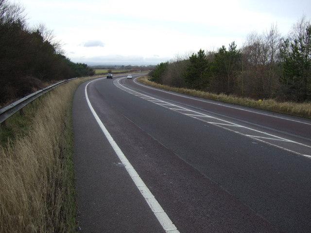 The A66 Darlington bypass