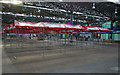 TQ3381 : Spitalfields Market: interior view (New Year's Day) by Julian Osley