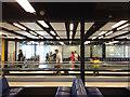 TQ2841 : People on travelator, Gatwick Airport by Robin Stott