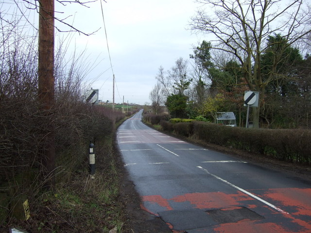 Hill House Lane heading north