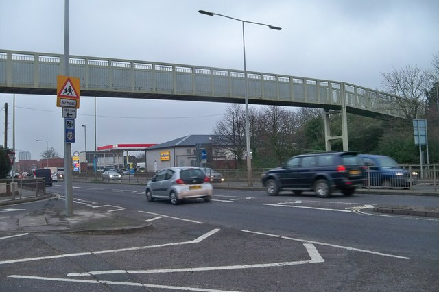 Footbridge- Fareham