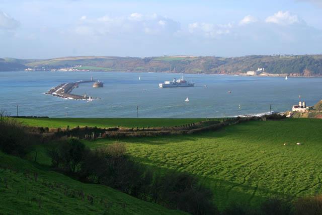 Coastal Defences, Plymouth Sound