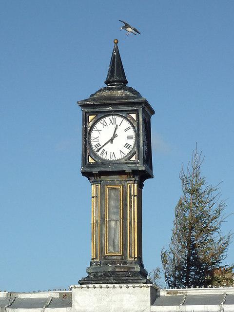 Clock tower on Brighton Pier