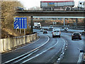 SU3616 : M27/M271 Interchange by David Dixon