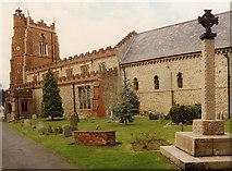 TL7835 : St Nicholas, Castle Hedingham by John Salmon