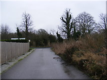 TM3863 : Carlton Playing Field entrance by Adrian Cable